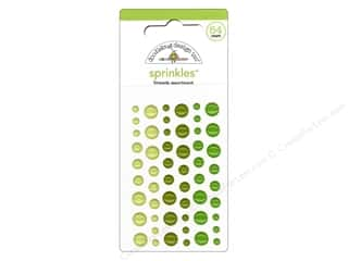 Jewelry Making Supplies Doodlebug Sticker: Doodlebug Stickers Sprinkles Limeade