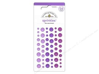 This & That Doodlebug Sticker: Doodlebug Stickers Sprinkles Lilac