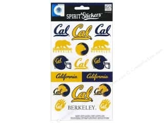Bear Paw Productions: Me&My Big Ideas Sticker Spirit NCAA Cal (3 sets)