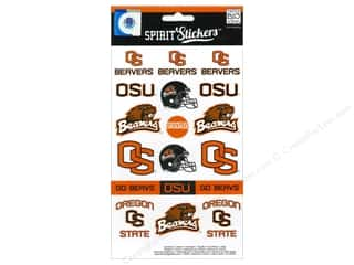 Mothers Day Gift Ideas Scrapbooking: MAMBI Sticker Spirit NCAA Oregon State (3 set)
