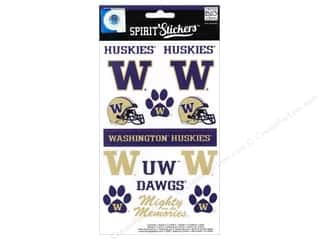 Mothers Day Gift Ideas Scrapbooking: MAMBI Sticker Spirit NCAA Washington (3 set)