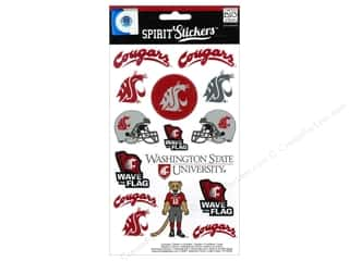 Mothers Day Gift Ideas: MAMBI Sticker Spirit NCAA Washington State (3 set)