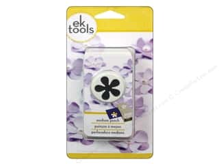 EK Success paper dimensions: EK Paper Shapers Medium Punch Retro Flower