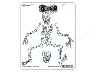 Ranger Dylusions Stamp Rubber Boney Maloney