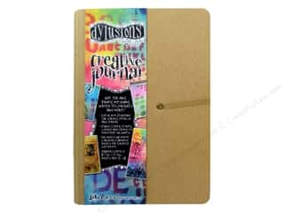 Scrapbook / Photo Albums Chipboard Embellishments: Ranger Dylusions Accessories Creative Journal Small