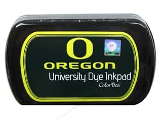 ColorBox Licensed Products: ColorBox Dye Ink Pad University of Oregon Thunder Green