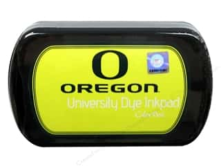 New Sports: ColorBox Dye Ink Pad University of Oregon Lightning Yellow