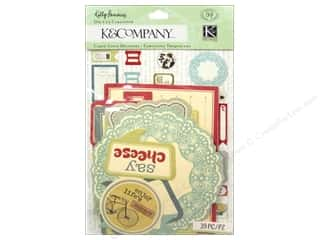 Eclectic Papers: K&Company Die Cut Kelli Panacci Eclectic Die Cut Cardstock Manilla