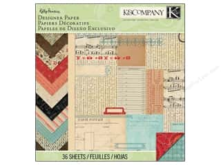 "Kelly's Papers: K&Company Paper Pad 12""x 12"" Kelli Panacci Eclectic Designer"