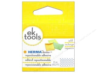 Glue Dots Double-sided Tape: EK Herma Dotto Repositional Adhesive Refill 49 ft.