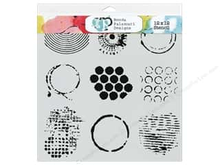 Crafter's Workshop, The: The Crafter's Workshop Template 12 x 12 in. Well Rounded