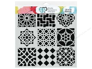 The Crafter's Workshop Template 12 x 12 in. Moroccan Tile