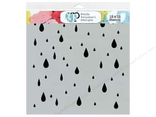 Clearance The Crafters Workshop Template: The Crafter's Workshop Template 12 x 12 in. Raindrops