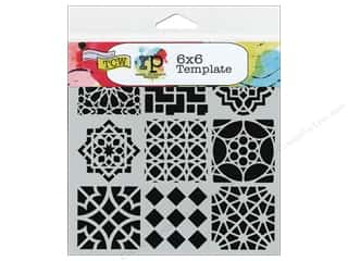 Sponges $4 - $6: The Crafter's Workshop Template 6 x 6 in. Moroccan Tiles
