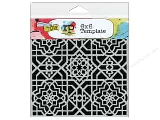 Crafter's Workshop, The Embossing Aids: The Crafter's Workshop Template 6 x 6 in. Ceiling Tile