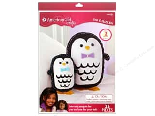 Embroidery Kid Crafts: American Girl Kit Sew & Stuff Penguins