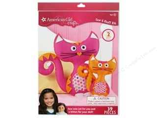 Sew Tea Girls $9 - $10: American Girl Kit Sew & Stuff Cats