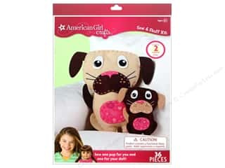 Weekly Specials Dimensions Needle Felting Kits: American Girl Kit Sew & Stuff Dogs