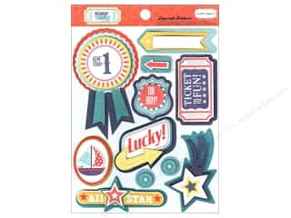 Carta Bella Dimensional Stickers: Carta Bella Sticker 12 x 12 in. Rough & Tumble Layered