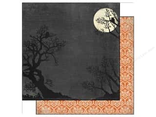Carta Bella Halloween: Carta Bella 12 x 12 in. Paper Happy Haunting Full Moon (25 pieces)