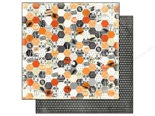 Carta Bella Halloween: Carta Bella 12 x 12 in. Paper Happy Haunting Hexagon (25 sheets)