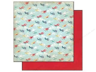 Carta Bella 12 x 12 in. Paper Soaring Planes (25 piece)