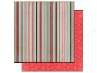 Carta Bella Carta Bella 12 x 12 in. Paper: Carta Bella 12 x 12 in. Paper Rough & Tumble Silly Stripes (25 pieces)