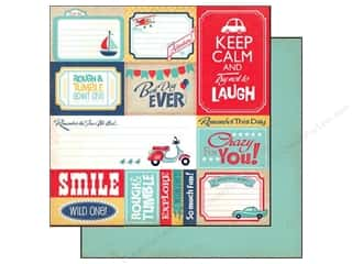 Carta Bella $5 - $15: Carta Bella 12 x 12 in. Paper Rough & Tumble Journaling Cards (25 pieces)