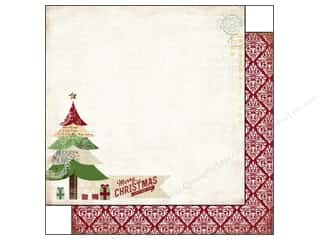 Carta Bella Paper 12x12 This Is Christmas Mry Xmas (25 piece)