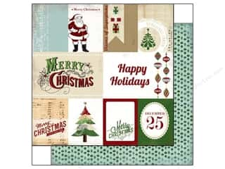 Carta Bella Paper 12x12 This Is Christmas Journal (25 piece)