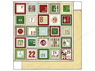 Carta Bella Paper 12x12 This Is Christmas Countdwn (25 piece)
