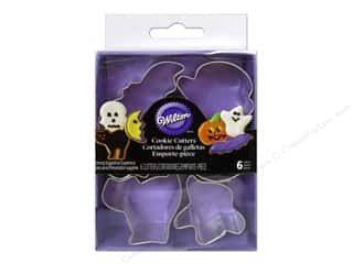 Halloween Clearance: Wilton Cookie Cutter Set Mini Metal Halloween 6pc