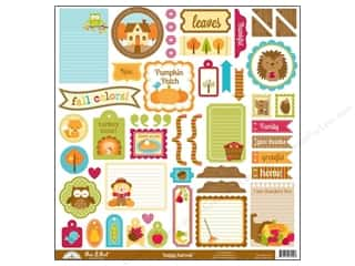 Doodlebug Sticker Happy Harvest Cdstk This & That