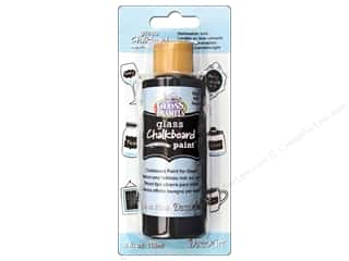 acrylic paint DecoArt Chalkboard Paint: DecoArt Americana Glass Chalkboard Paint 4 oz. Black