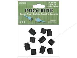 Pepperell Braiding Co. Crafting Kits: Pepperell Parachute Cord Accessories Break Away Safety Buckles 5pc