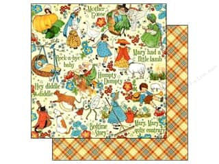 fall sale: Graphic 45 Paper 12x12 Mother Goose Nursery Rhymes (25 pieces)
