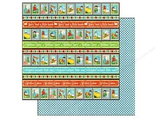 Graphic 45 Paper 12x12 Mother Goose Playful Postge (25 piece)