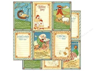 Graphic 45 Paper 12x12 Mother Goose Little Boy Blu (25 piece)