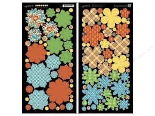 Punches Weekly Specials: Graphic 45 Cardstock Shapes Mother Goose Flowers