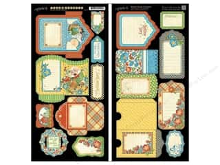 Graphic 45 Cardstock Mother Goose Tags & Pockets