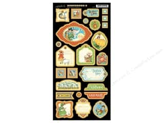 Tags Clearance Crafts: Graphic 45 Die Cut Mother Goose Chipboard 2