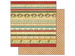 Graphic 45 Paper 12x12 12 Days Xmas Joyeux Noel (25 piece)