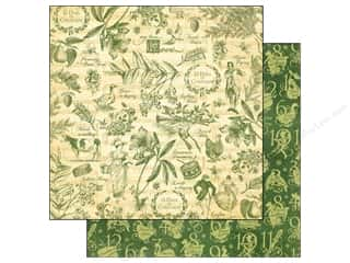 Graphic 45 Independence Day: Graphic 45 Paper 12x12 12 Days of Christmas Pear Tree (25 pieces)