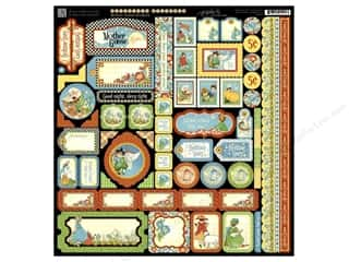 Graphic 45: Graphic 45 Sticker Mother Goose