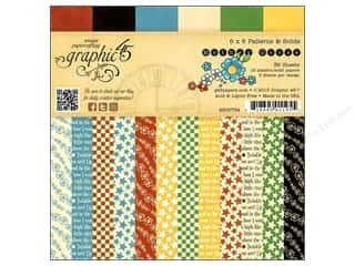 "Graphic 45 Graphic 45 Paper Pad Collections: Graphic 45 Paper Pad Mother Goose 6""x 6"""