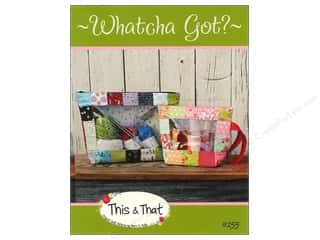 Happy Lines Gifts Tote Bag: This & That Whatcha Got? Pattern