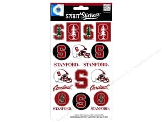 Me & My Big Ideas Back To School: Me&My Big Ideas Sticker Spirit NCAA Stanford Cardinals (3 sets)