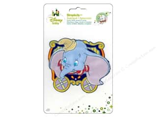 Clearance DBest Products Smart Cart: Simplicity Disney Baby Iron On Dumbo In Cart