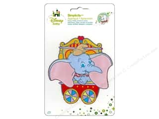 Clearance DBest Products Smart Cart: Simplicity Disney Baby Iron On Dumbo In Circus Cart