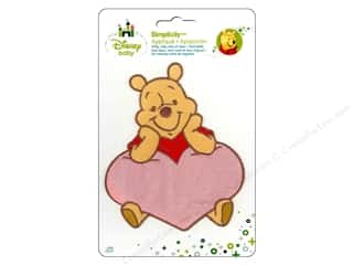 Hearts Licensed Products: Simplicity Disney Baby Iron On Pooh In A Heart